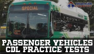Passenger Vehicles CDL Practice Tests